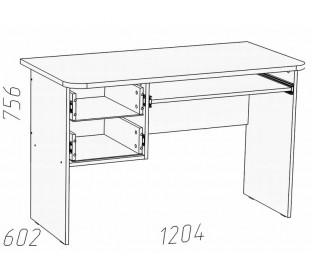 схема «Прованс Шери» НМ-009.19-02 Стол для компьютера