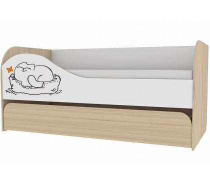 «Кот 900.1» Кровать 2-х уровневая
