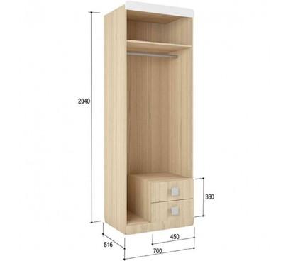 «Стиль 2» Шкаф 2-х дверный наполнение