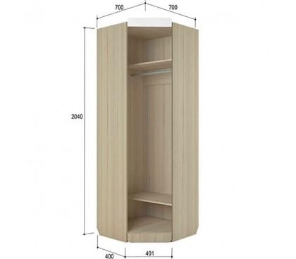 «Стиль 3» Шкаф угловой наполнение