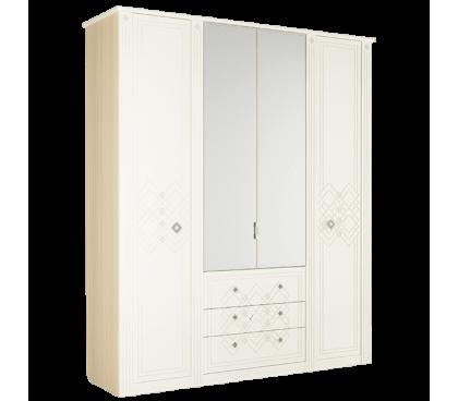 «Капелла 24» Шкаф 4-х дверный