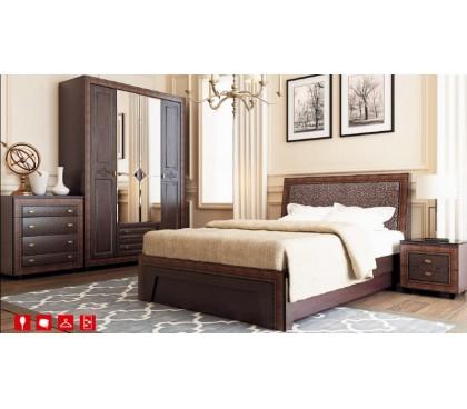 комплект спальня Калипсо (Венге)