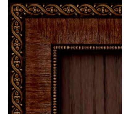 молдинг шкафа спальни Калипсо (Венге)