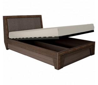 «Калипсо 16ПМ» Кровать 1600 Венге с подъемным механизмом