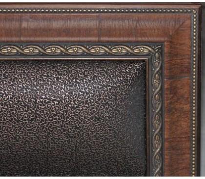 «Калипсо 18.1М» Кровать 1800 каркас Венге декор