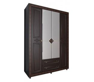 «Калипсо 24» Шкаф 4-х створчатый (Венге)