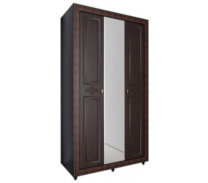 «Калипсо 25» Шкаф 3-х створчатый (Венге)