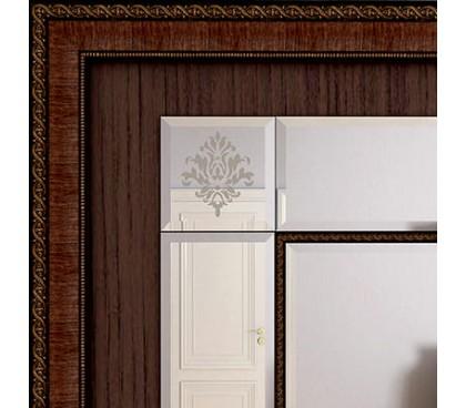 фасад шкафа «Калипсо 26» (Венге)