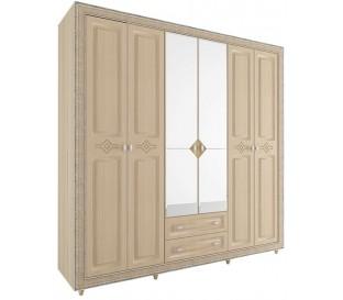 «Калипсо 27» Шкаф 6-х створчатый