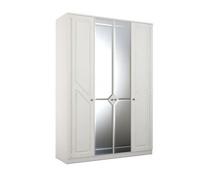 «Азалия 24» Шкаф 4-створчатый с зеркалом