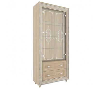 «Калипсо 2» Шкаф комбинированный (Туя светлая)