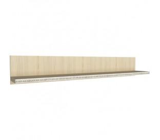 «Калипсо 7» Полка навесная 1600 (Туя светлая)