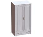 «Прованс» Шкаф двух дверный с ящиком
