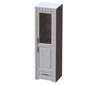 «Прованс» Шкаф-витрина правая