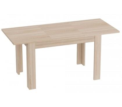 «Элана» Стол обеденный в раздвинутом виде цвет дуб Сонома