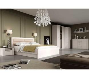 спальня Элана комплект №1 цвет Бодега белая