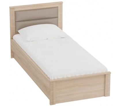 «Элана» Кровать 900 каркас цвет дуб Сонома