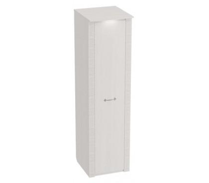 «Элана» Шкаф 1-дверный для одежды цвет Бодега белая