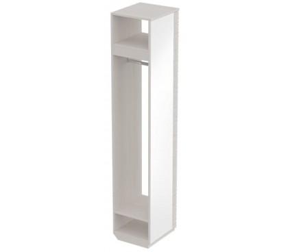 «Элана» Вешалка-штанга с зеркалом цвет Бодега белая