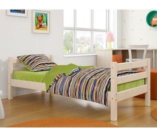 «Соня» Кровать-1 цвет белый