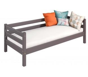 «Соня» Кровать-2 с задней защитой цвет Лаванда