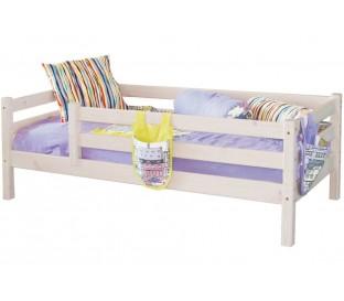 «Соня» Кровать-3 с защитой по периметру цвет Белый