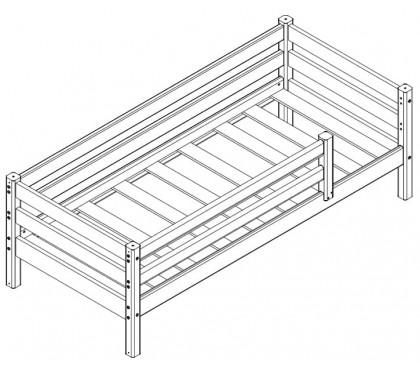 «Соня» Кровать-3 с защитой по периметру схема