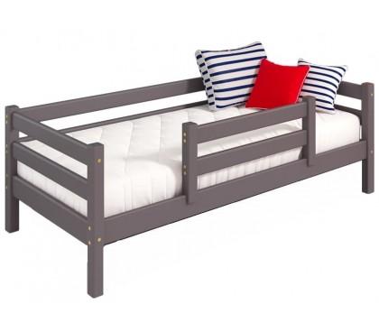 «Соня» Кровать-4 с защитой по центру цвет Лаванда