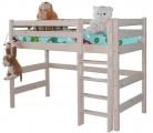 «Соня» Кровать-5 полувысокая с прямой лестницей