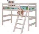 «Соня» Кровать-6 полувысокая с наклонной лестницей