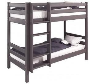«Соня» Кровать-9 двухъярусная с прямой лестницей цвет Лаванда
