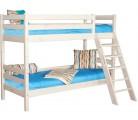 «Соня» Кровать-10 двухъярусная с наклонной лестницей