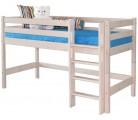 «Соня» Кровать-11 низкая с прямой лестницей