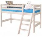 «Соня» Кровать-12 низкая с наклонной лестницей