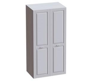 «Соня» Шкаф двух дверный цвет Лиственница сибирская / Айс 06