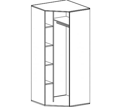 «Соня» Шкаф угловой наполнение