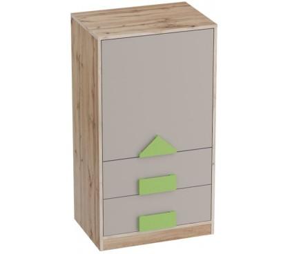 «Марио» Тумба с дверцей и ящиками