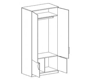 «Марио» Шкаф для одежды наполнение