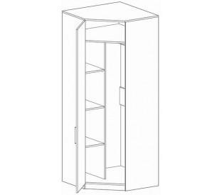 «Марио» Шкаф угловой внутри