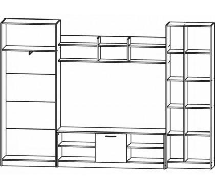 Стенка Модерн-3 наполнение