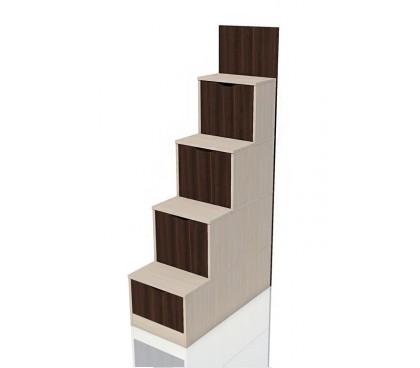 «Рико дуб Тортона» НМ-011.64 Лестница с ящиками