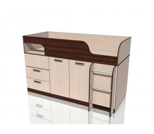 «Рико дуб Тортона» НМ-011.55М Кровать с поворотным столом