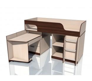 наполнение «Рико дуб Тортона» НМ-011.55М Кровать с поворотным столом