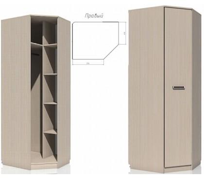 «Рико дуб Тортона» НМ-013.04-02 Шкаф угловой 1-дверный правый