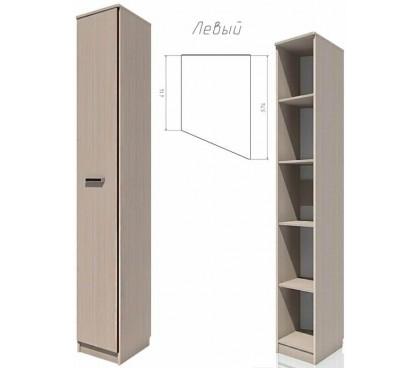 «Рико дуб Тортона» НМ-013.05-01 Шкаф скошенный левый