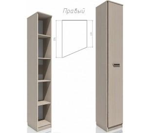 «Рико дуб Тортона» НМ-013.05-01 Шкаф скошенный правый