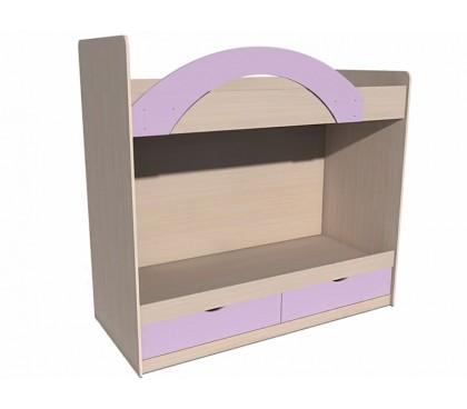«Рико Модерн» ИЧП-15-02-М3 Кровать двухъярусная фасад ирис