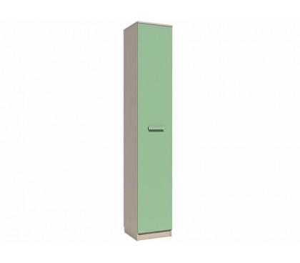 «Рико Модерн» НМ-013.01-02 Пенал (гл. 414) фасад зелёный