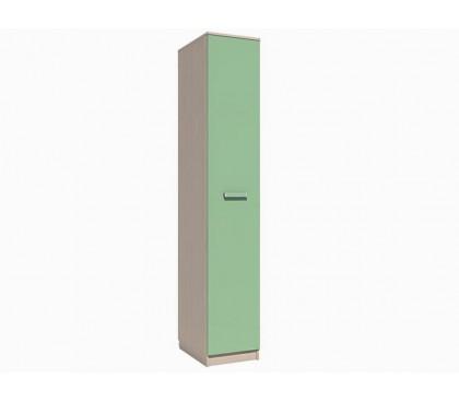 «Рико Модерн» НМ-013.01-03 Пенал (гл. 574) фасад зелёный
