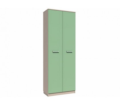 «Рико Модерн» НМ-013.02-02 Шкаф 2-дверный (гл. 414) фасад зелёный
